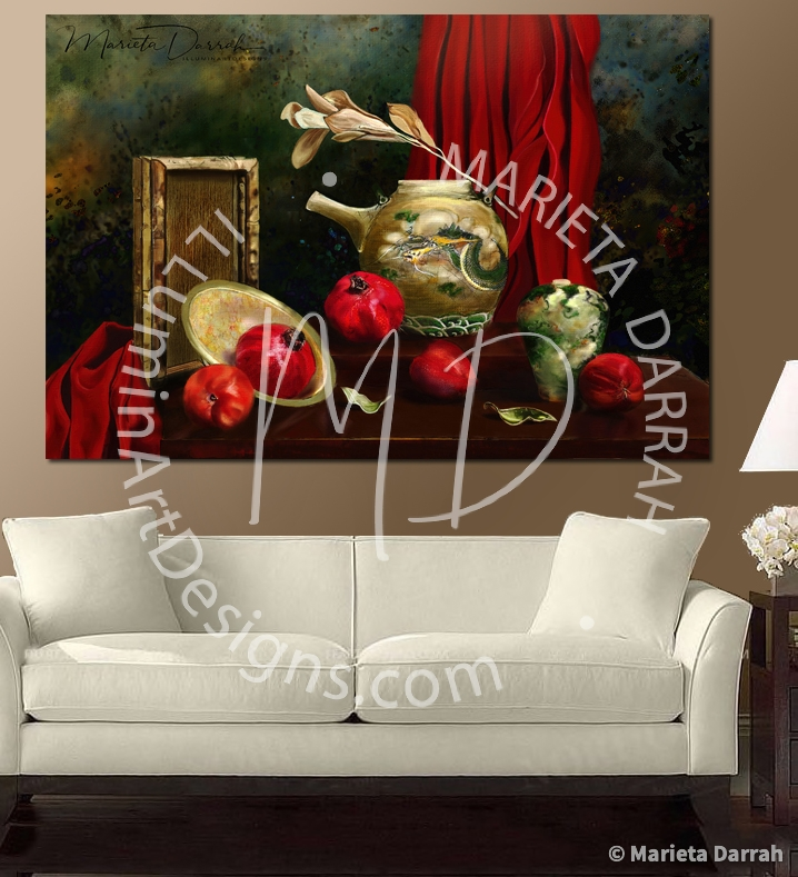 Pomegranates-Wall-Art