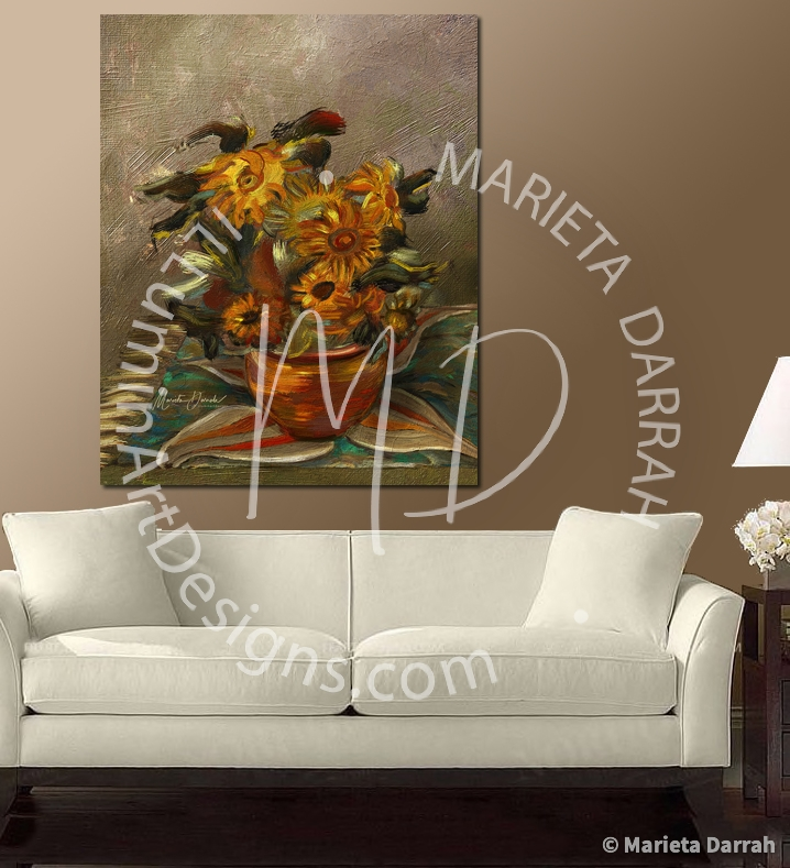 SunFlower-wall-art